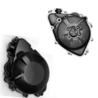 Black Aluminum Motorcycle Left Side Stator Engine Crankcase Cover Case for HONDA CBR 954 CBR954 2002 2003 02 03