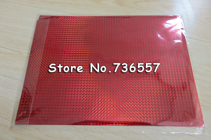 50 Pcs Laser Red Free Shipping 20x29Cm A4 Hot Stamping Foil Paper Laminator Laminating Transfered Elegance Laser Business Cards