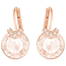 лучшая цена Kaliyah Swans Golden Earring Pink Earring With Diamonds Bella V Nails Ear Piercing Black Swan Gifts From Holiday