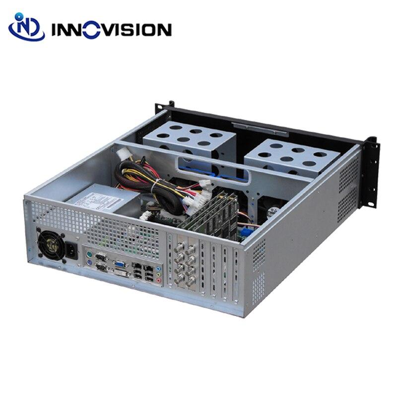Image 4 - Высококлассный дизайн промышленные корпуса компьютера RC3500L с алюминиевой передней панелью 3U крепление в шасси/Серверный корпус-in Промышленный компьютер и аксессуары from Компьютер и офис