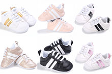 Adorable Sneakers Newborn Baby Casual Crib Shoes Boys Girl Infant Toddler Soft Sole New цена
