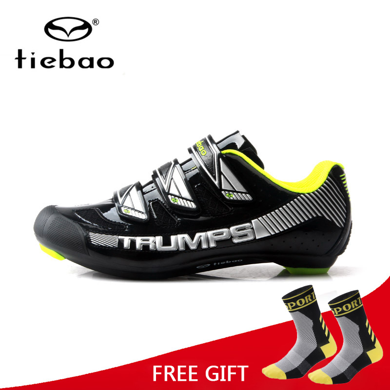 Tiebao Cycling Shoes Breathable Wear-Resistant Men Self-Locking Road Bike Bicycle Racing Athletic Shoes Sapatilha Ciclismo inbike road cycling shoes men 2018 carbon fiber road bike shoes self locking bicycle shoe athletic sneakers sapatilha ciclismo
