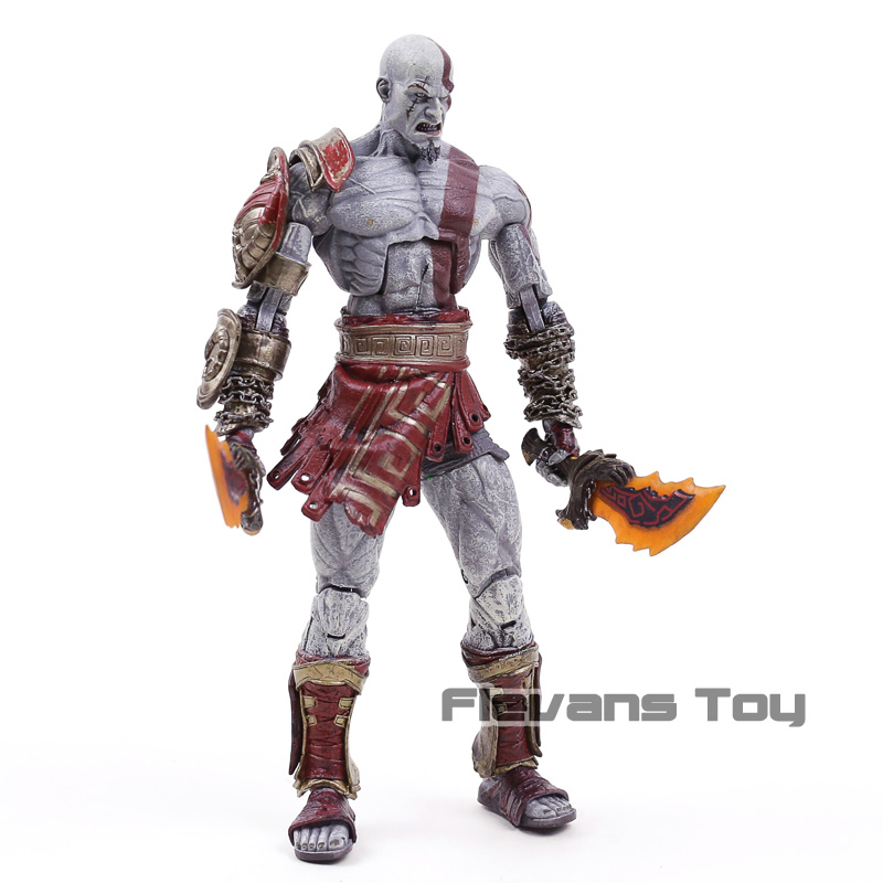 Kratos Atreus God Of War Deluxe Edition Action Model Toy Neca Ultimate Kratos Atreus Pvc Collectible Figure 2 Pack Action Figures Aliexpress