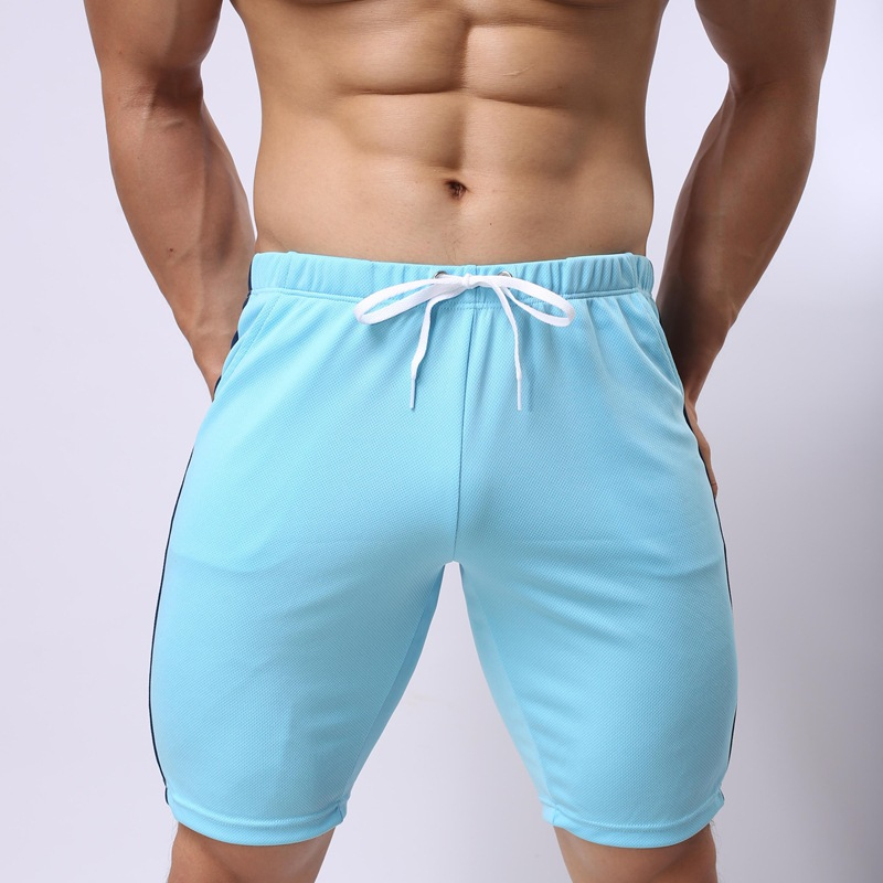 High Quality Men Cotton Shorts Leisure Men Loose Casual Elastic Trousers Shorts Men Homme Knee Shorts Bermuda Masculina