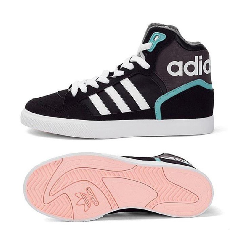 cheap for discount 993d4 19862 Adidas Originals EXTABALL W Women s High Top Skateboarding Shoes Sneakers  BY2333