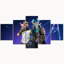 5 Piece GAMING Enforcer Poster on Canvas for Home Decor F5V8