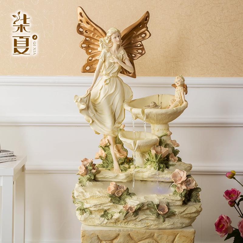 los siete ngeles decoracin fuente de agua de verano de lujo sala de estar de estilo