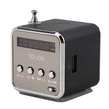 5 цветов портативный радио FM приемник мини динамик цифровой lcd звук Micro SD/TF Музыка стерео громкий динамик для ноутбука телефона MP3
