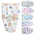 Roupões de Banho Do Bebê Recém-nascido Cobertor do bebê Envelope Aberto Duplo Saco de Dormir Do Bebê de Pelúcia Curto Dentro Infantil 3 Meses