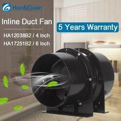 Ventilador de conducto en línea de escape de acero inoxidable negro; ventilador de ventilación para tiendas de cultivo, tienda de cultivo con filtros de carbono, hidropónica