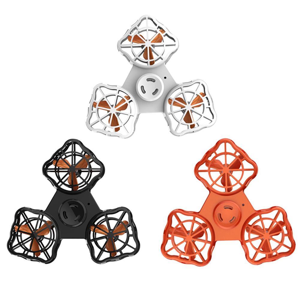 Druckentlastung Spielzeug Mini Zappeln Spinner Wiederaufladbare Automatische Rotierenden Fliegen Gyro Fliegen Spinner Für Erwachsene und Kinder