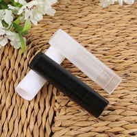 New Arrival 50pcs/Lot Empty Plastic Clear LIP BALM Tubes Containers Lipstick Fashion Cool Lip Tubes Refillable Bottles