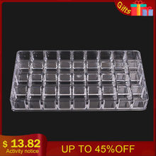 36 Grid Acrylic Tattoo Ink Holder Stand Permanent Tattooing Pigment Liquid Storage Lipstick Case Container Makeup Supplies(China)