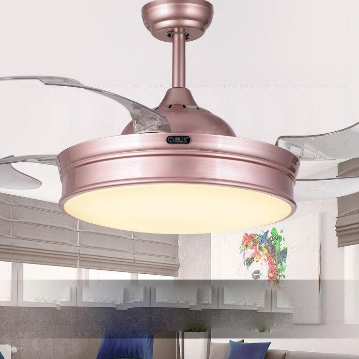 Elegant LED Modern Alloy Acryl Ceiling Fan LED Lamp LED Light Ceiling Lights LED Ceiling Light Ceiling Lamp For Foyer Bedroom in Ceiling Fans from Lights Minimalist - Fresh 5 light ceiling fan Inspirational