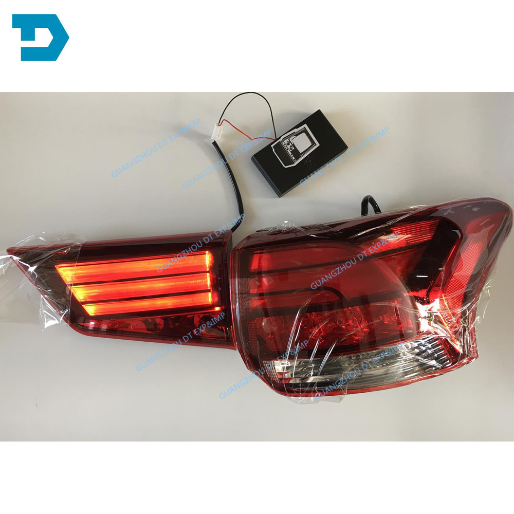 2013 2019 outlander LED tail lamp ASSY airtrek back lamp buy 4 piece if you need 1 SET QUALITY GUARANTEE 1 YEAR parking light in Car Headlight Bulbs LED from Automobiles Motorcycles