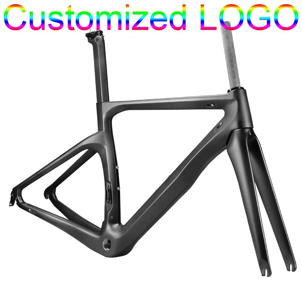 OG EVKIN Full Carbon Fiber Cycling Road Bicycle Frames Lightest Bike ...