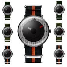 1pc New Style women men watch clocks gift Quartz wristwatches Sports Military NATO Nylon Chronograph Unisex Waterproof Hours H1