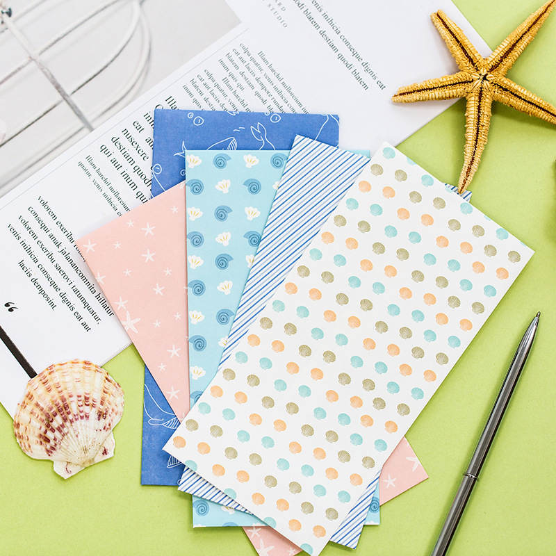 50 Pcs/lot Mini Kawaii Kraft Paper Envelopes Cute Cartoon Anmals Paper Stationery Gift For Greeting Card