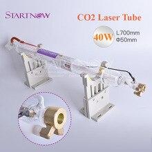 СО2 лазерная стеклянная лампа 40 Вт 700 мм диаметр 50 мм СО2 лазерная трубка для СО2 лазерная резьба резка гравировка машина маркировка Оборудование Запчасти