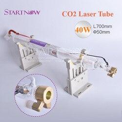 Co2 Laser Glas Lampe 40W 700mm Dia 50mm CO2 Laser Rohr Für CO2 Laser Carving Schneiden Gravur maschine Kennzeichnung Ausrüstung Teile