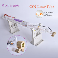 Co2 Laser Glass Lamp  40W 700mm Dia 50mm CO2 Laser Tube For CO2 Laser Carving Cutting Engraving Machine Marking Equipment Parts