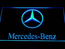 d004 Benz Neon Signs Led Signs with On/Off Switch 20+ Colors 5 Sizes or Multi Color with Remote Control