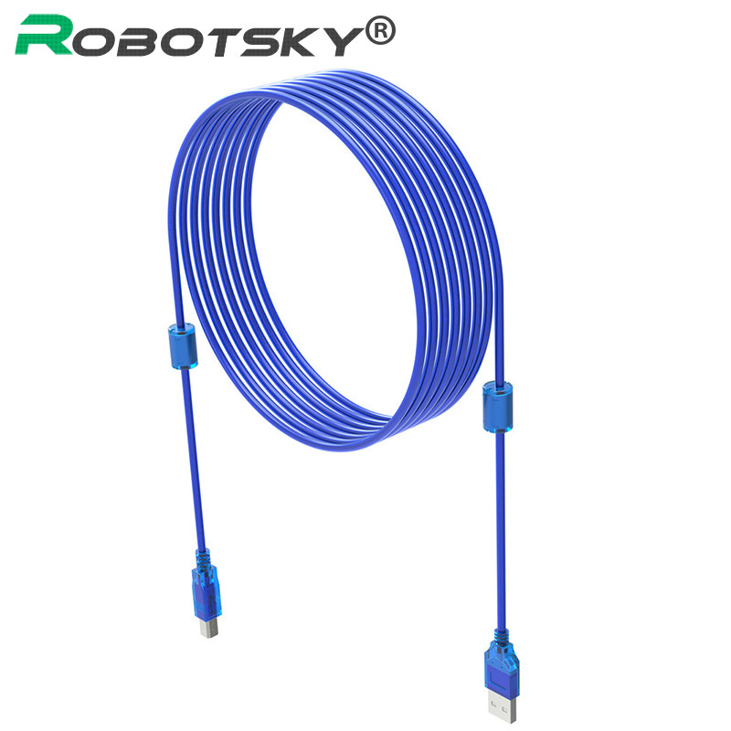 USB 2.0 Male to Male Scanner Printer Cable Sync Data Cable for HP Printer Canon Epson 0.3m 0.5m 1m 1.5m 1 5m 3m black high speed data transfer usb 2 0 male to male scanner printer cable sync data charging wire cord for dell hp canon