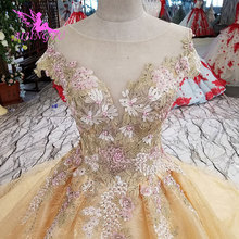 AIJINGYU Isreal 2016 Online Train Gowns Wedding Dresses For