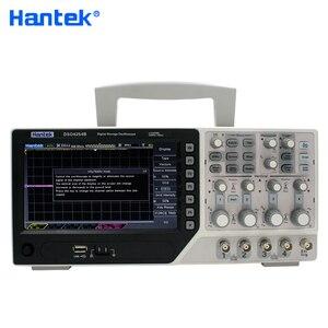 Image 2 - Hantek الرسمية DSO4254B الرقمية الذبذبات USB 250MHz 4 قنوات PC المحمولة المحمولة Osciloscopio Portatil التشخيص أداة