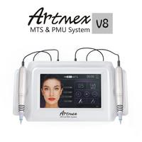 Прямые продажи Artmex V8 Permanente Microblading цифровой татуаж татуировки micro лопаток Ручка для глаз бровей Губы