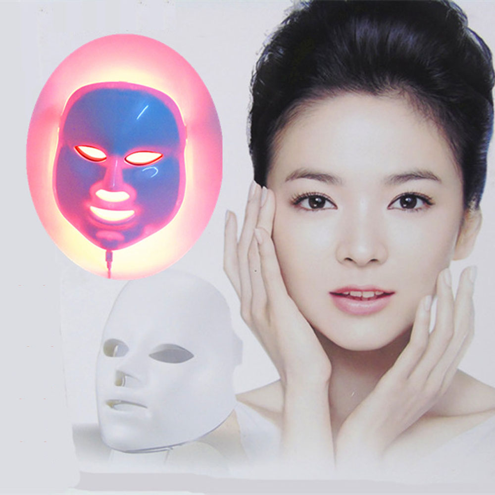 7 Colors Beauty Therapy Photon LED Facial Mask Light Skin Care Rejuvenation Wrinkle Acne Removal Face Beauty Spa Instrument