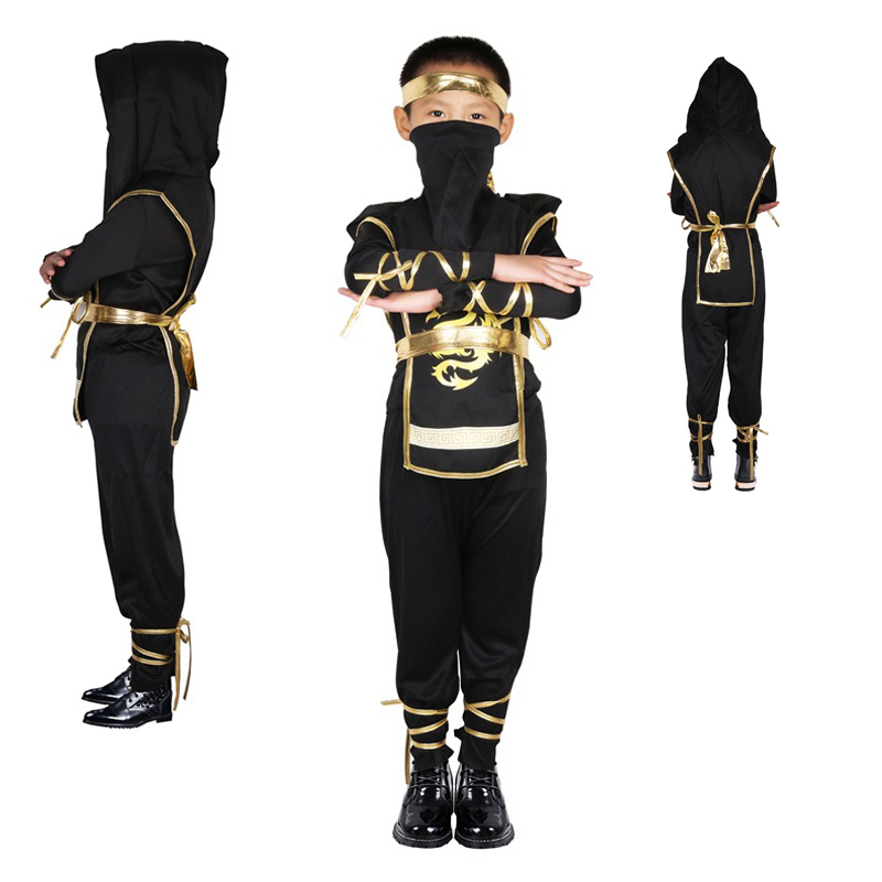 Ninjago Cosplay Costume Boys Clothes Sets Ninjago Party Halloween Christmas Fancy Dress Ninja Cosplay Superhero Jumpsuits Suits Boys' Clothing