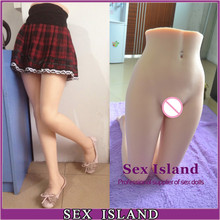 Hot New Solid Full TPE Silicone Sexy Lower Body Silicone Sexy Doll Real Leg Fetish Sex Toys For Men Lifelike Silicone Sex Torso