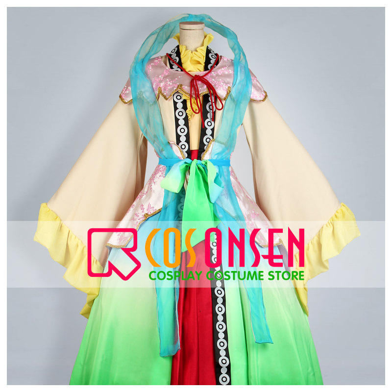 COSPLAYONSEN Magi The Labyrinth of Magic Kogyoku Ren Cosplay Costume Any Size