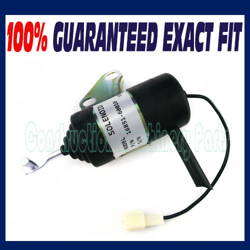 New For Kubota Stop Solenoid BX24 BX25(S/N stop solenoid 12v 16851 60010 for kubota gf1800 gf1800e t1600h t1600hg tg1860 zd18f zd21f k 008 k008 k0083ktc kcl