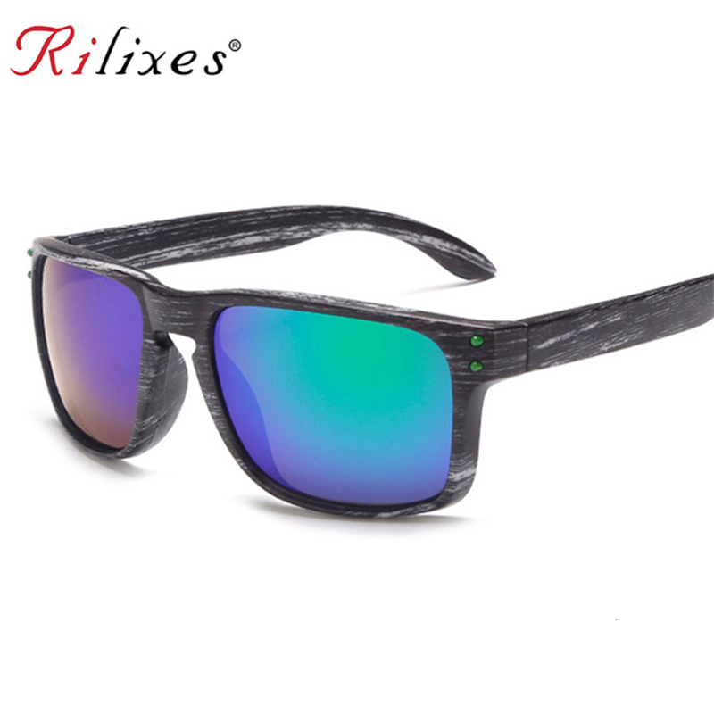 Rilixes Men Bamboo Sunglasses Sport Sunglass Women Brand Designer Mirror Lens Custom Logo For Everyone Sun Glasses With Bag Possessing Chinese Flavors