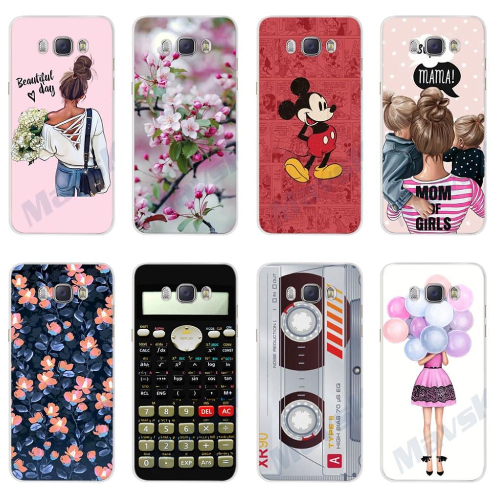 For Samsung J7 2016 Case Soft Silicone Phone Case for Samsung Galaxy J7 2016 SM-J710F Cover Fundas for Samsung Galaxy J7 2016
