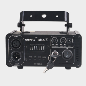 Image 4 - ALIEN projecteur Laser à distance, vert 50mw, éclairage professionnel DMX 512, Scanner, lumière pour spectacle pour Disco DJ