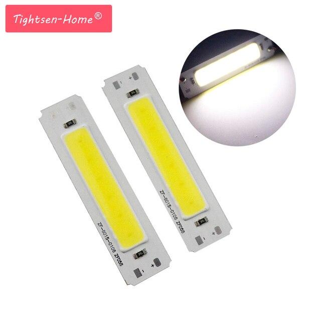 60*15mm LED 5 V Sumber chip cob 2 W COB LED Jalur Cahaya Bar lampu DIY USB lampu meja LED 5 V Panel 5 vLight LED jalur cahaya grosir