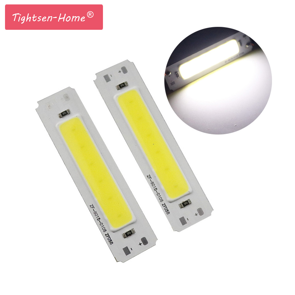 60*15mm LED 5V Chip Cob 2W COB LED Strip Light Source Bar Lamp DIY USB Table Lamp LED 5V Panel 5vLight LED Strip Light Wholesale