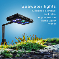 Smart LED Aquarium Light Aqua Mini 60W Full Spectrum for Coral Reef Grow Planted Fish Tank
