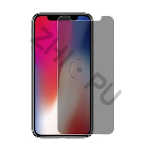 Image 2 - 10 pcs/lot Top Quality 2.5D Arc Edge Privacy Tempered Glass For Apple iPhone X Screen Protector Film Guard Cover Shield