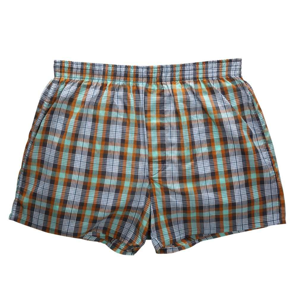 985079fc1604 ... Classic Plaid 4PCS Mens Underwear Boxers Loose Shorts Men'S Panties Cotton  Comfortable Soft Arrow Pants Home ...