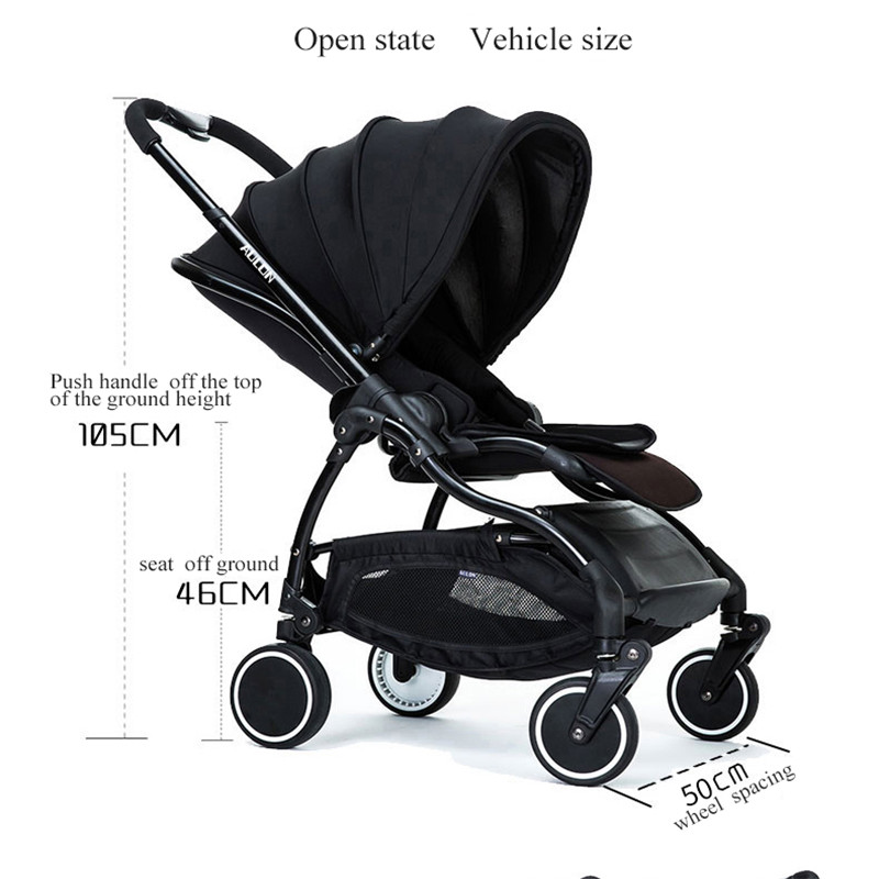 0-4 years light umbrella car carriage four-wheel folding 2 in 1 Strollers For Dolls travel baby stroller newborn baby car quelle city walk 827224 page 9