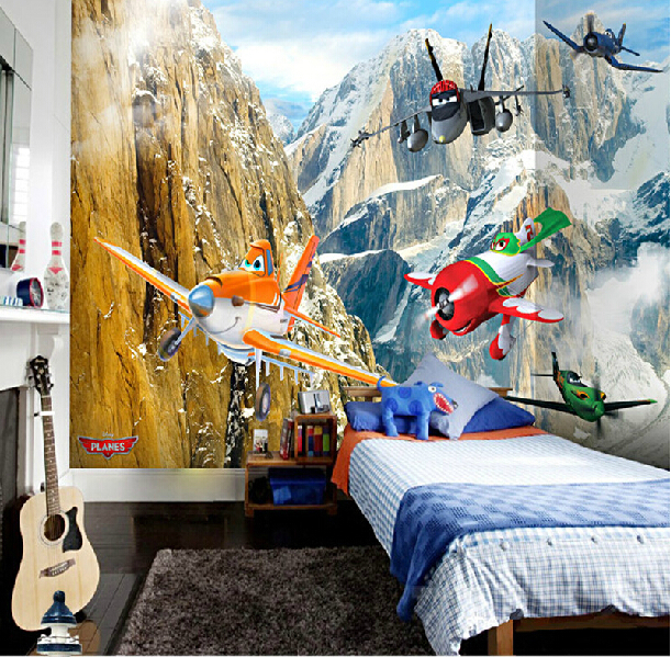 Planes Wall Mural