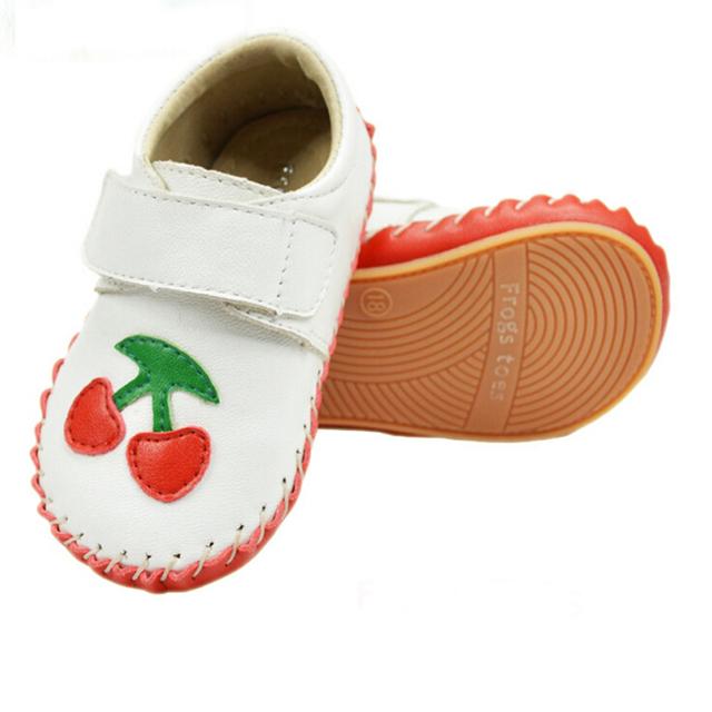 Sapatos com couro de ovelha outono e primavera sapatos da criança do bebê Sapatos De Couro para crianças 0-24 meses YYT130