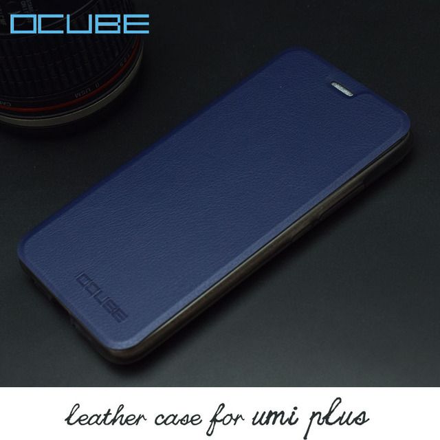 ocube for Umi Plus Leather Case Luxury PU+Plastic Wallet High Quality Ultra Slim Flip Stand Leather phone Cover for Umi Plus E