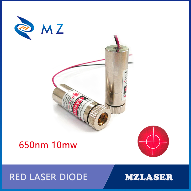 650nm10mw Cross Circle Red Laser Module APC Circuit Driver