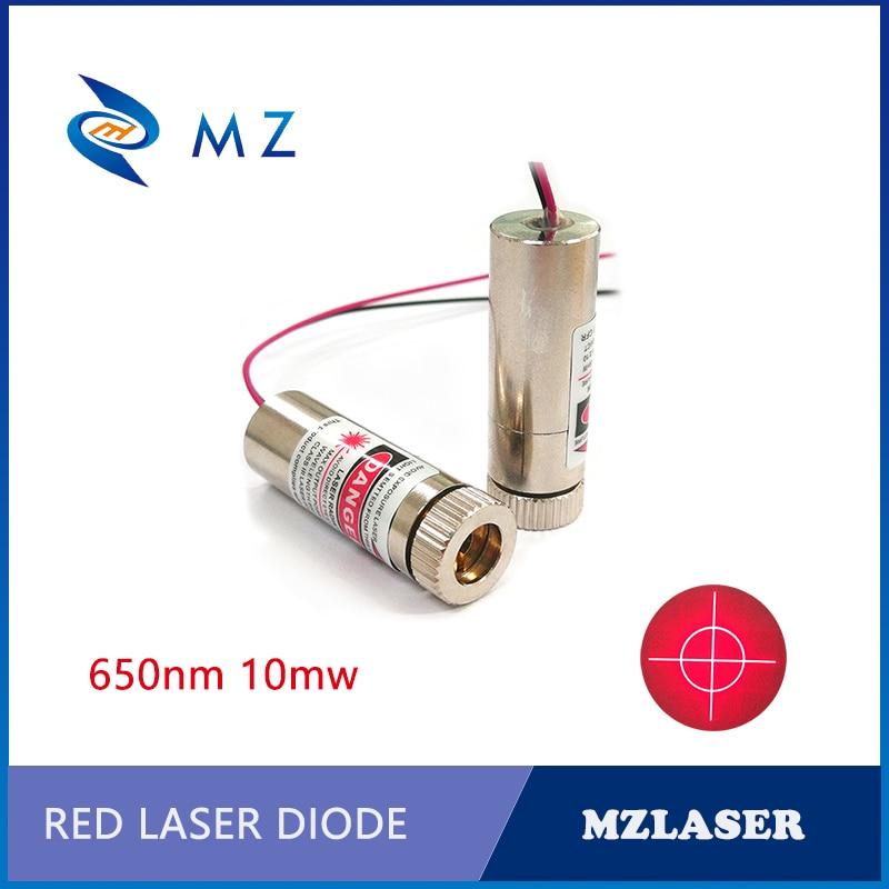 650nm10mw Cross Circle Red Laser Module APC Circuit Driver