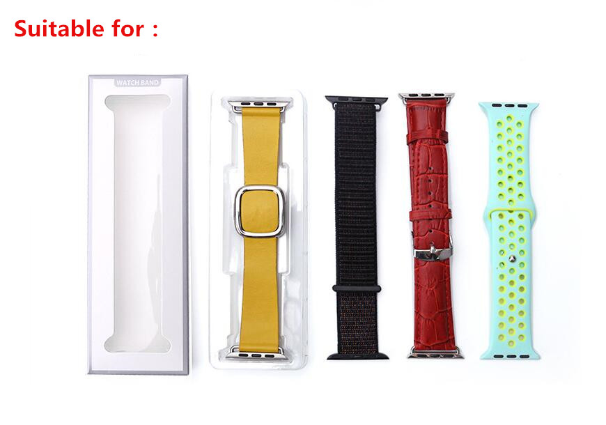 100PCS Simple Style Package Watchband Box for Apple Watch Bands Package 38MM 42MM 40MM 44MM for